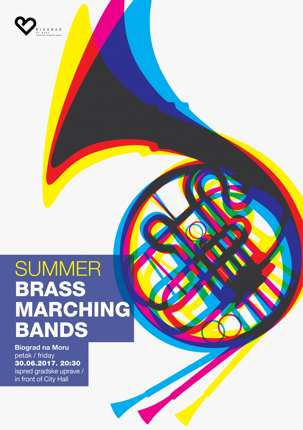 Summer brass marching bands